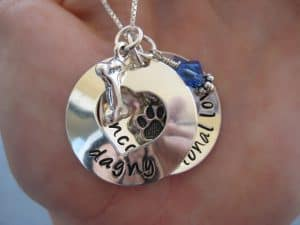 Etsy dog necklace akaoriginals