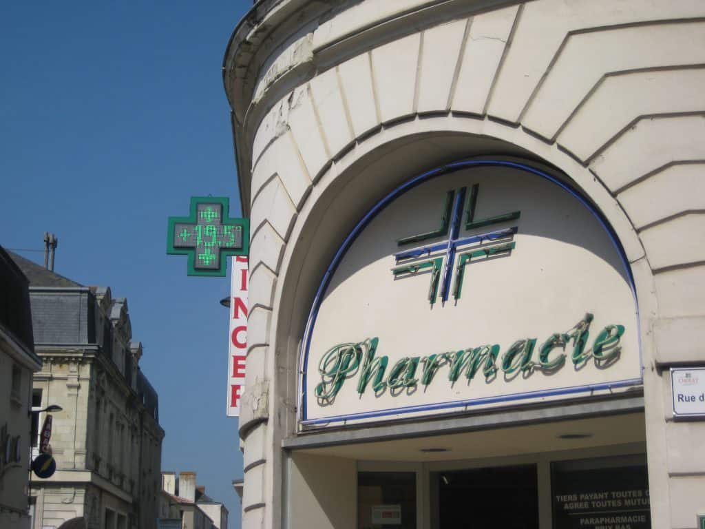 French pharmacy medicines