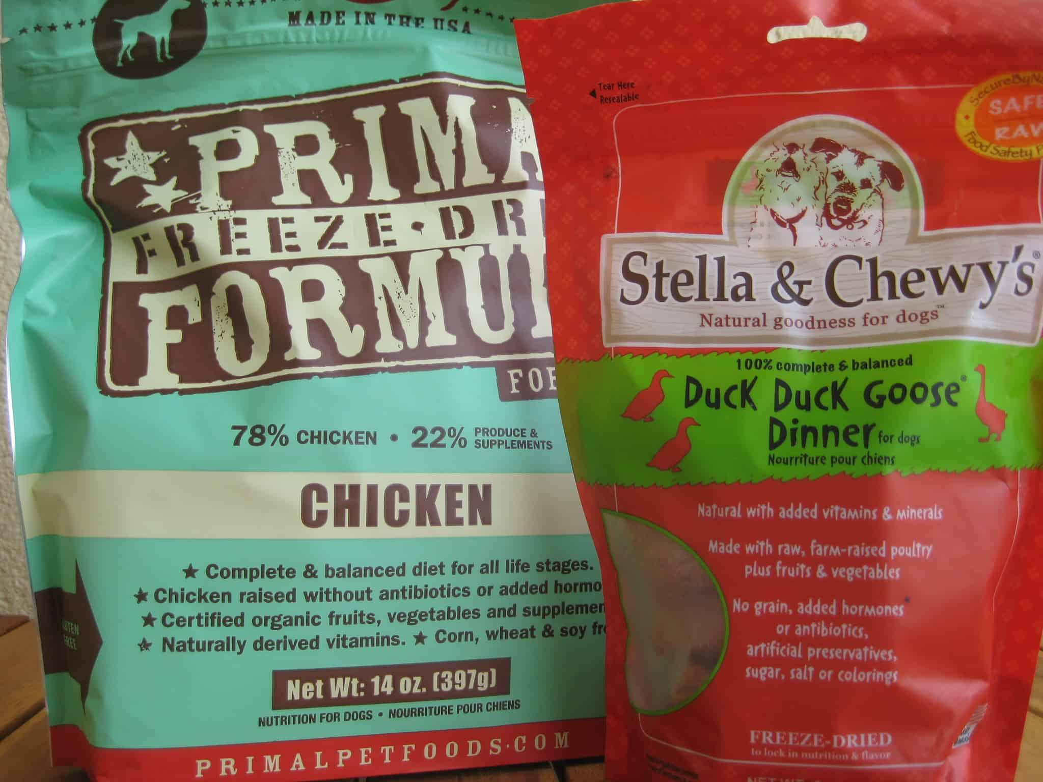 Prepackaged Frozen Dog Food