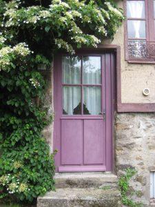 Dinan, France door