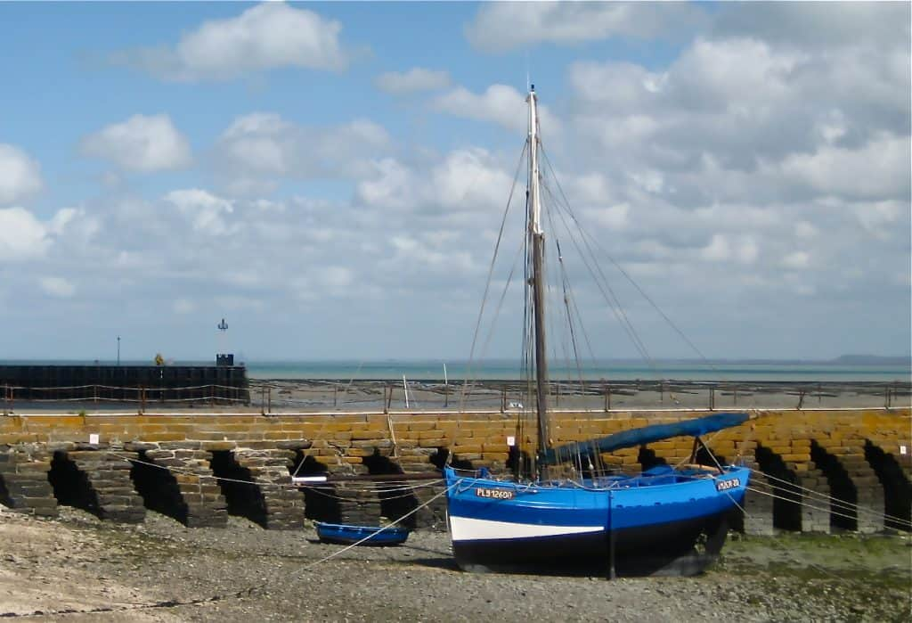 Cancale France sailboat