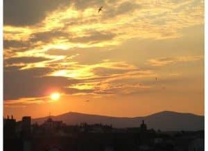 View from Split, Croatia window