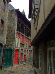 Dinan, France street