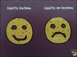 Galettes Brittany France