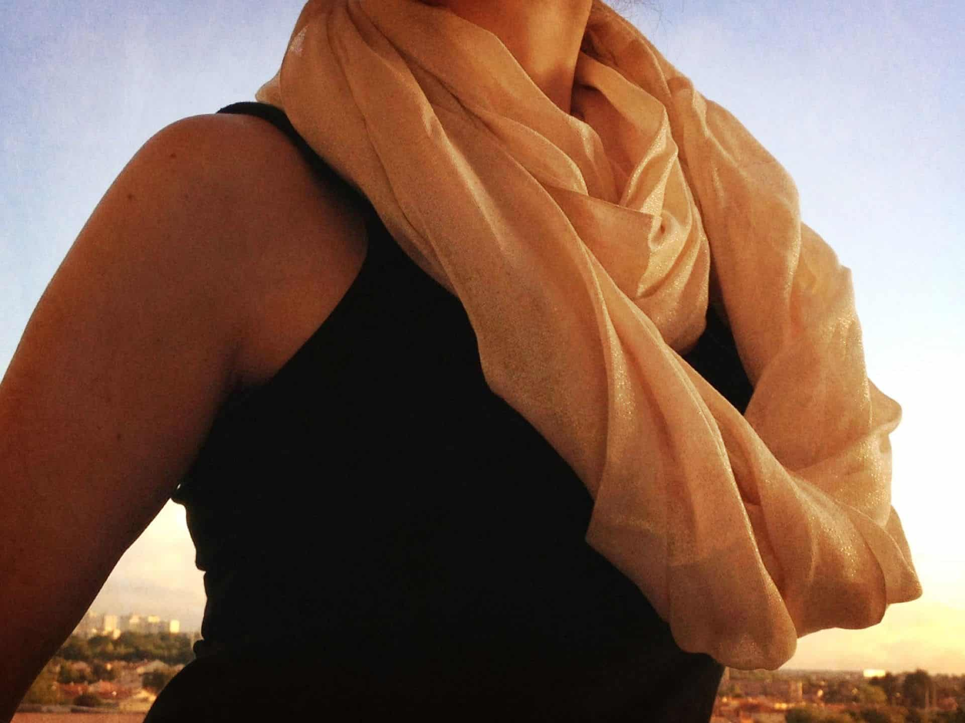 French style scarf