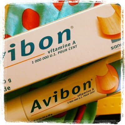 Giveaway: Free Avibon vitamin A cream from France