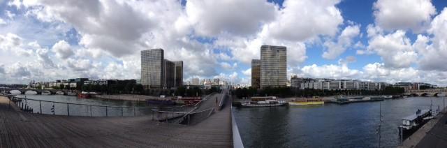 Paris Seine Panorama Bercy