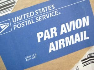 How to send packages overseas