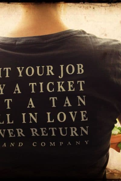 Island Company Quit Your Job shirt