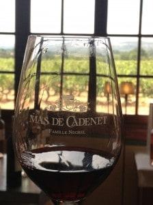 Mas de Cadenet wine tour