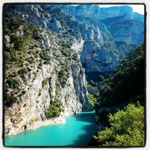 Kayaking Verdon Gorge