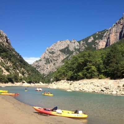 Vacation wrap up: South of France Gorges du Verdon kayak trip