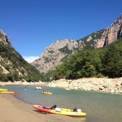 Vacation wrap up: South of France Gorges du Verdon kayak trip
