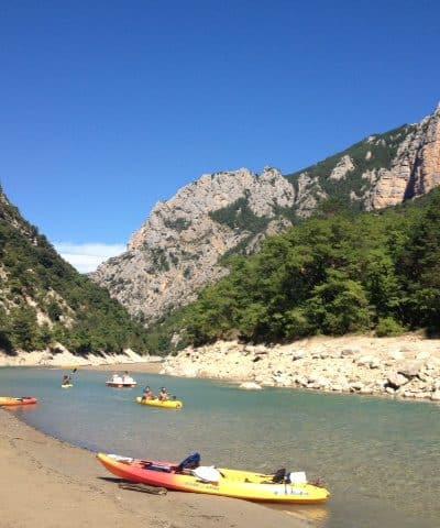 Gorges du Verdon kayak