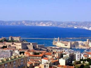 Marseille, France view