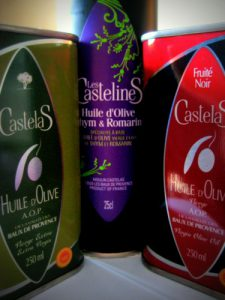 Castelas Olive oil varieties