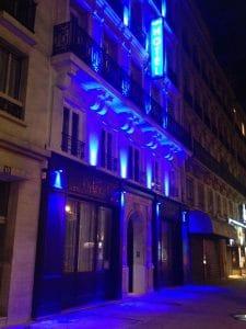 Hotel Original Paris at night