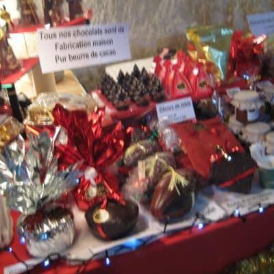 Christmas market: Chateau de Breze Marche de Noel