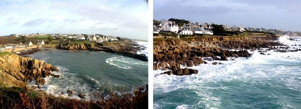 Bretagne France rocky coast