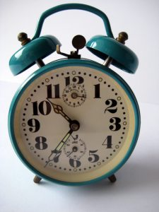 Jaz alarm clock French vintage