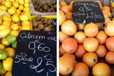 French marche fruit