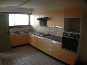 French dated kitchen