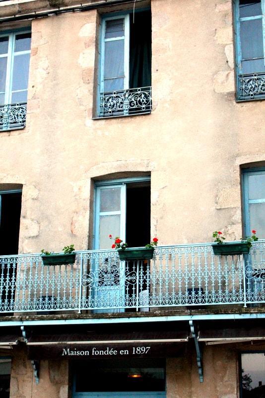 French windows blue