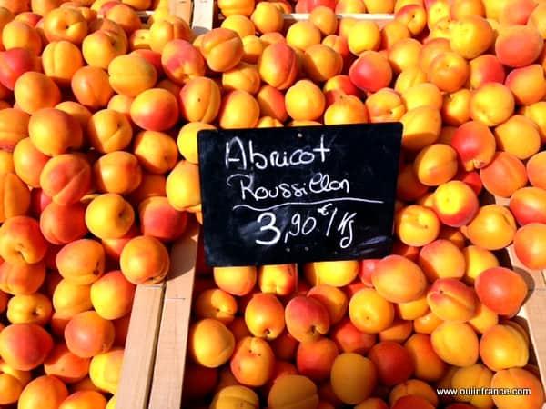 abricots marche france