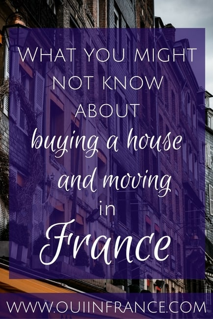 What you might not know about buying a house and moving in France