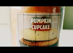 Pumpkin cupcake candle bath and body works