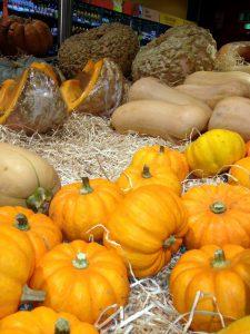 pumpkins in france