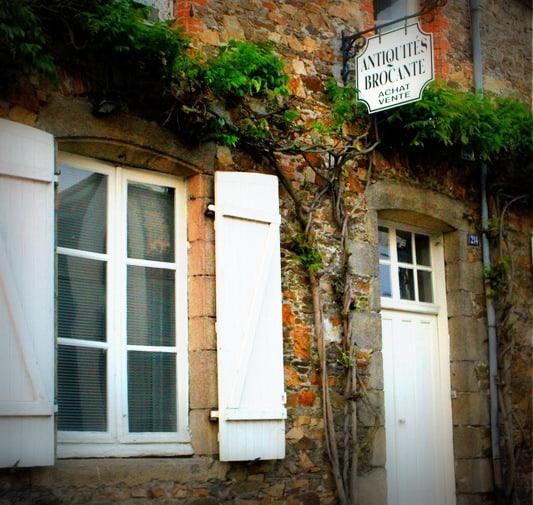 french window shutters