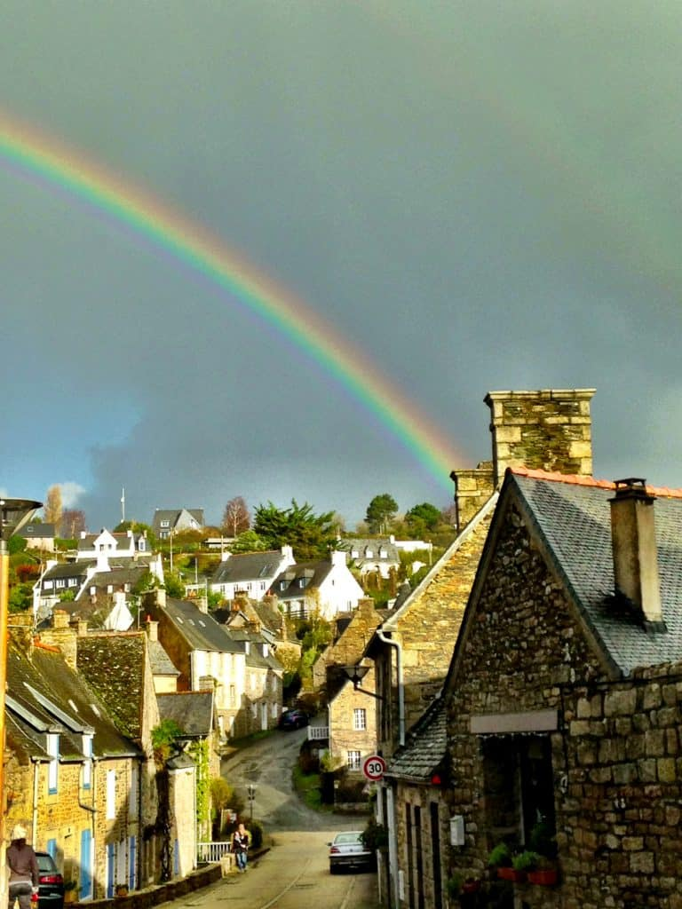 Rainbow Brittany France