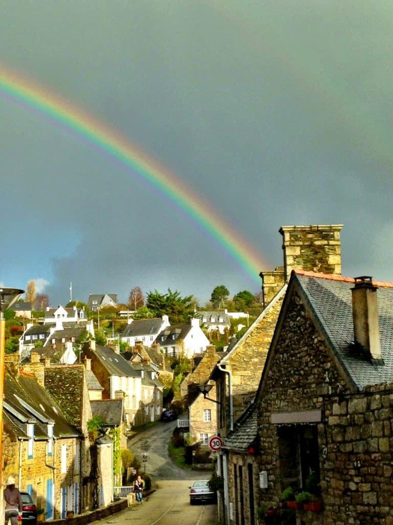 Rainbow Brittany France