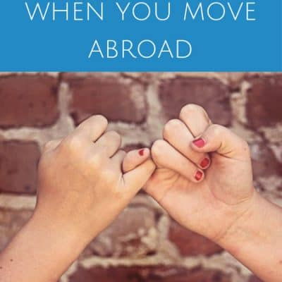 On friendship when you move abroad