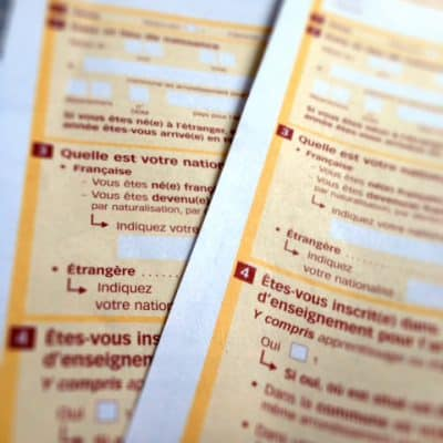 Does France have a census? French census time and a level of formality
