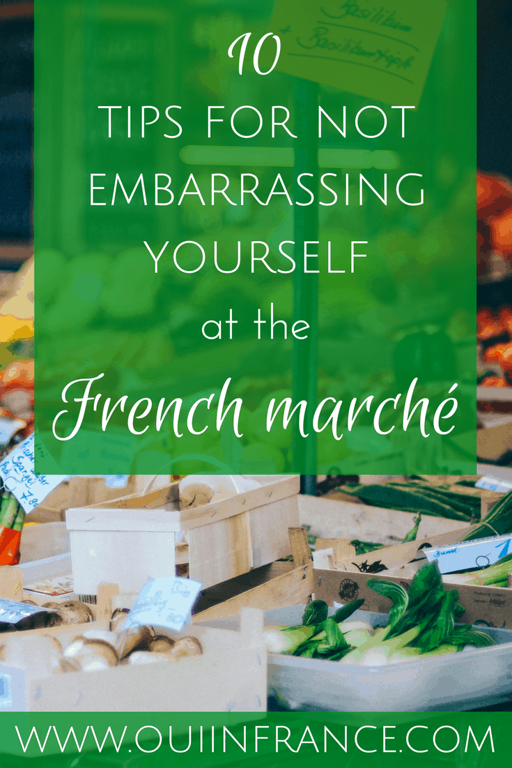 tips for the french marche
