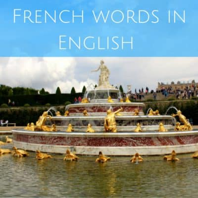 English with a sprinkling of French (and how the accent affects comprehension)