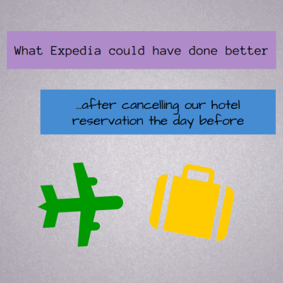 Expedia cancelled my hotel reservation: Here's what they could have done better