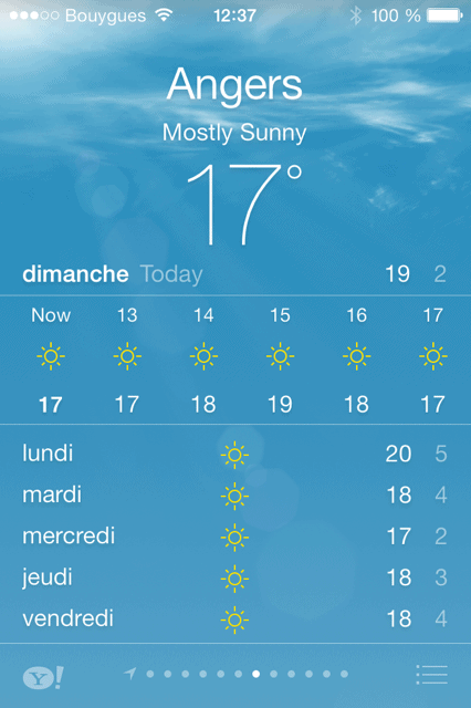 iphone-weather-forecast-angers-france
