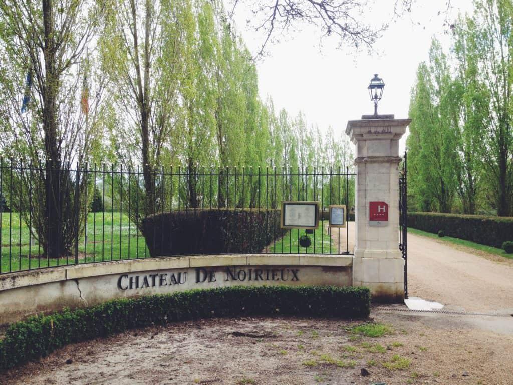 Chateau de Noirieux Angers France hotel