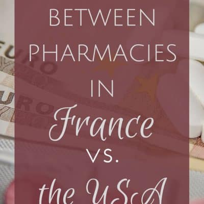 Differences between pharmacies in France and the United States