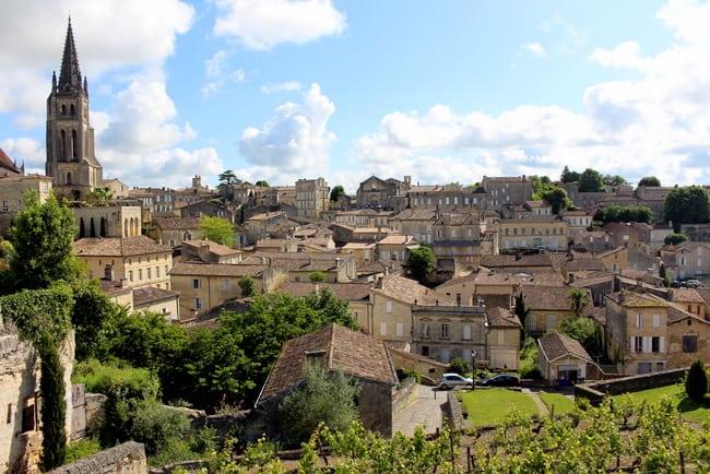 Saint-Emilion France  city photos : St Emilion view