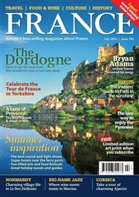 I'm featured in France Magazine