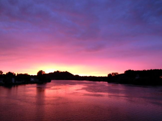 france-sunset
