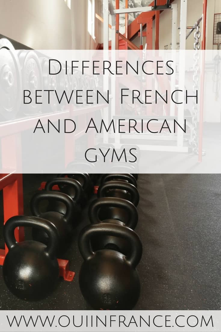 Differences between French and American gyms