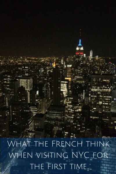 What the French think when visiting NYC(1)