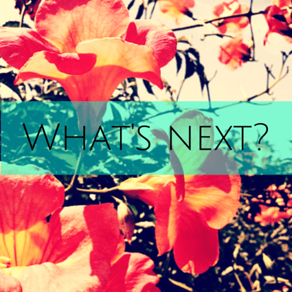 What's next_