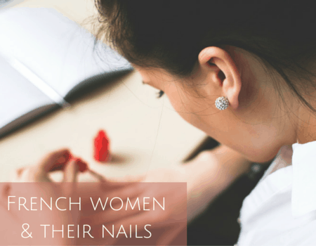 French women& their nails