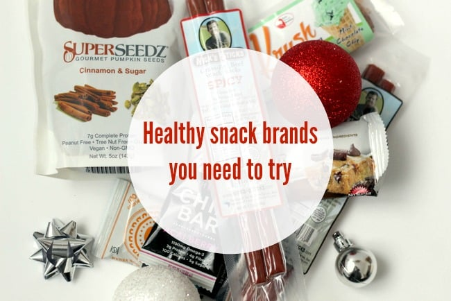 healthy snack brands